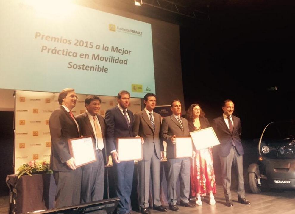 III Premio Renault a la mejor práctica de movilidad sostenible.