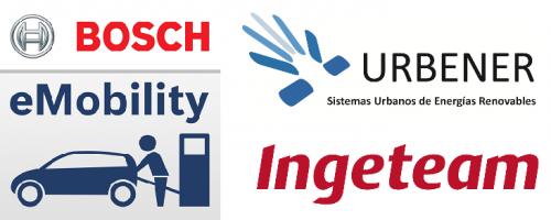 Urbener, Ingeteam y Bosch colaboran en el despliegue de infraestructura de recarga para vehículos eléctricos en España.