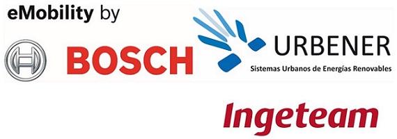 Urbener, Ingeteam y Bosch firman un acuerdo para la actualización de hasta 1.000 puntos de carga de vehículos eléctricos en España